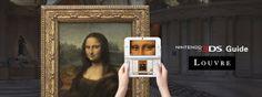 Visitando el Louvre con una 3DS- Nintendo pone a la venta la misma audioguía interactiva que se usa en el museo de París