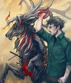 Will Graham #Fannibal Art #Hannibal #Fav