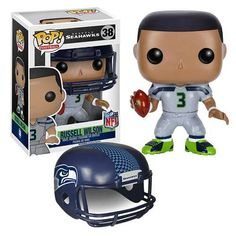 Funko is moving the chains with their NFL Wave 2 Pop! This NFL Marshawn Lynch Wave 2 Pop! Vinyl Figure features the running back for the Seattle Seattle Seahawks, Seahawks Fans, Nfl Seattle, Seahawks Helmet, Richard Sherman, Kick Off Football, Nfl Football, Nfl Superbowl, Sports