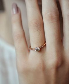 *sparkles* champagne diamond and rose gold tender solitaire sparkles a'la hazeline