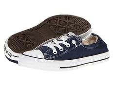 Converse Chuck Taylor® All Star® Shoreline Slip-On Ox Athletic Navy - Zappos.com Free Shipping BOTH Ways