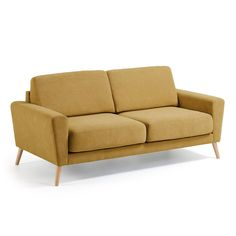 LaForma+-+Guy+3-pers+Sofa+-+Mustard+-+