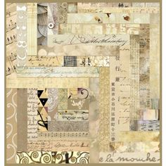 collage #quilt #collage #neutral