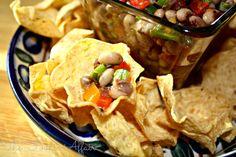 Texas Caviar, Good Luck Black-Eyed Pea Dip!
