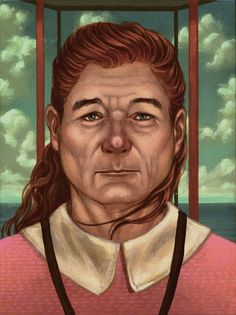 Paintings of Bill Murray as Wes Anderson Characters He Didn't Play
