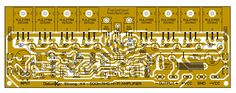 Click the image to open in full size. Electronic Circuit Projects, Electronics Projects, Switched Mode Power Supply, Diy Amplifier, Electronic Schematics, Audio, Circuit Diagram, Sustainable Energy, Layout Design