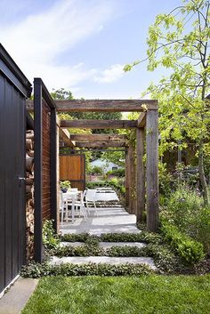 The pergola you choose will probably set the tone for your outdoor living space, so you will want to choose a pergola that matches your personal style as closely as possible. The style and design of your PerGola are based on personal Wooden Pergola, Backyard Pergola, Pergola Plans, Timber Pergola, Cheap Pergola, Pergola Shade, Garden Design Images, Landscape Design, Building A Pergola