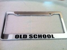 Chrome METAL License Plate Frame IT/'S A TROJANS THING YOU WOULDN/'T UNDERSTAND