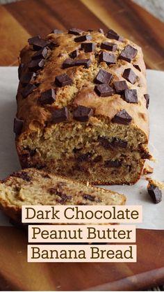 Fun Baking Recipes, Cookie Recipes, Sweet Recipes, Dessert Recipes, Sugar Cookies Recipe, Just Desserts, Delicious Desserts, Yummy Food, Peanut Butter Banana Bread