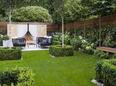 decor diy budget backyard Easy DIY Backyard Landscaping On A Budget - Onechi - Gartengestaltung Ideen Large Backyard Landscaping, Modern Backyard, Backyard Patio, Landscaping Ideas, Mulch Landscaping, Backyard Ideas, Landscaping Software, Patio Ideas, Contemporary Garden Design
