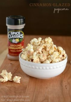 Salted Caramel Popcorn - Cookies and Cups