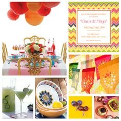 2012 Cinco de Mayo & Mexican Party Theme Ideas, Decorations, Recipes