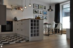 Nadwiślańska / mieszkanie podróżniczki - zdjęcie od NIESKROMNE PROGI - Kuchnia - Styl Skandynawski - NIESKROMNE PROGI