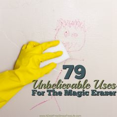 The Mr Clean Magic Eraser is my number one cleaning tool. Find out all the uses for the magic eraser and how to use it to make your cleaning a breeze.