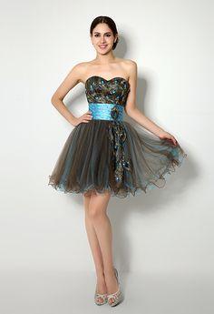 Evening dresses flat shoes