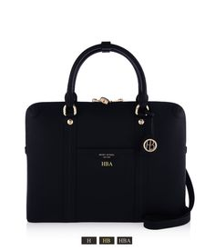 The West Briefcase - designer women's briefcase from Henri Bendel. Luxury black leather briefcase for women featuring laptop compartment and shoulder strap. Briefcase Women, Laptop Briefcase, Laptop Bags, Best Work Bag, Black Leather Briefcase, Laptop Bag For Women, Work Bags, Best Bags, New Bag