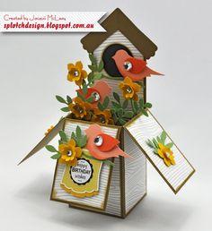 Stampin Up Card dans un tutoriel de Digital Box par SplotchDesign