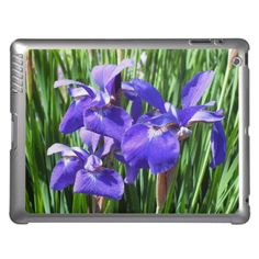 Purple Irises iPad Case