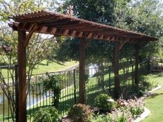 one sided pergola - Google Search