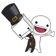 Hatty Hattington battleblock theater- I don't know who these two are but I like'em