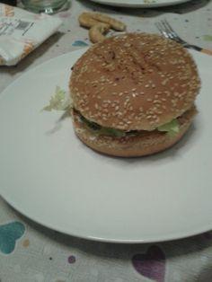 Hamburger, Ethnic Recipes, Food, Eten, Hamburgers, Meals, Loose Meat Sandwiches, Diet