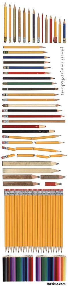 Ho questa infantile passione per le matite - colorate e non. E non è come se sapessi disegnare...