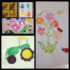 9 Idei de pictura pentru copii. Diferite tehnici. Curioși de mici – Curioși de mici Montessori Activities, Fall, Autumn