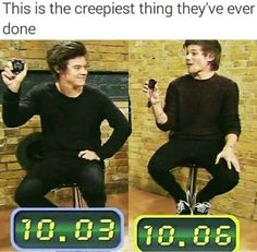 This is one of the creepiest things they've ever done Larry One Direction Humor, One Direction Pictures, I Love One Direction, Larry Stylinson, Louis Tomlinson, X Factor, Larry Shippers, Mutual Respect, Louis And Harry