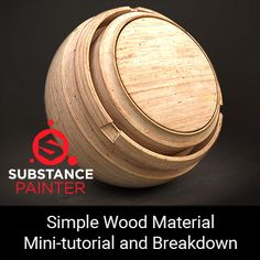Hey, I've made a breakdown of a simple wood material that I've created in Substance Painter for one of my projects not too long ago. The purpose of this breakdown is to demonstrate that while Substance Designer is a tool of choice for authoring Tutorial Sites, Tutorials, Cinema 4d Tutorial, Modeling Techniques, 3d Texture, Art Tips, Zbrush, Textures Patterns, Simple
