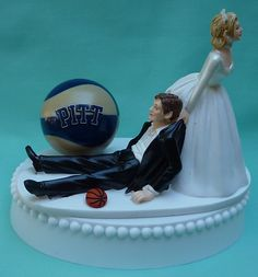 Wedding Cake Topper University of Pittsburgh Pitt by WedSet, $59.99