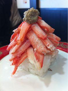 """@yurinna318 金沢まいもん寿司 八日市店。かにがんこ盛り(*^^*)(金沢まいもん寿司 八日市店への投稿)"" Sashimi Sushi, Sushi Love, Crab Recipes, Fusion Food, Food Staples, Eating Raw, Vegan Foods, Kitchen Recipes, Japanese Food"
