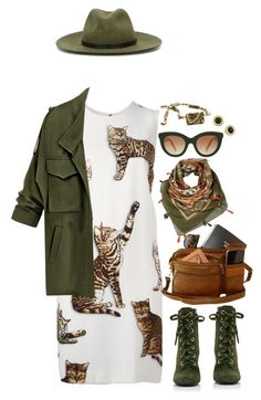 """""""It's a Jungle Out There"""" by km-r7 ❤ liked on Polyvore featuring Dolce&Gabbana, Prada, rag & bone, Victoria Beckham and Michael Kors"""