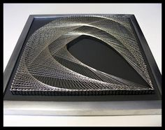 Floral Wall Art Set of 4 Gray 3D Art Geometric Art Silver