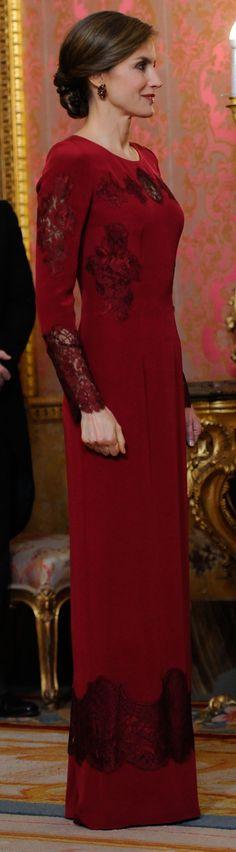 Los Reyes han presidido la recepción al Cuerpo Diplomático acreditado en España, en el Palacio Real de Madrid.