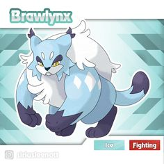 Brawlynx by siriusleenott Cat Pokemon, Character Design References, Lonely, Concept Art, Creatures, Marvel, Deviantart, Photo And Video, Cats