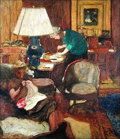The Book Maker. Vuillard