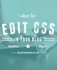 If you want to be able to make customizations to your blog theme or template, you need to know a little CSS. CSS is really easy to figure out if you give it half a chance. Seriously! But today I wa...