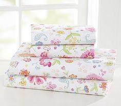Kids' Bed Sheets, Girls' Sheets & Sheet Sets | Pottery Barn Kids
