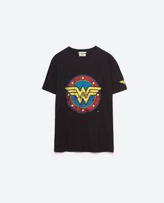 Image 6 of WONDER WOMAN T-SHIRT from Zara