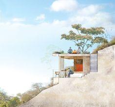 Upeo Camp Hotel design