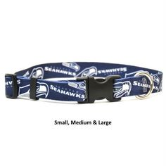 9db2e43bc Seattle Seahawks Nylon Collar - Little Earth Productions