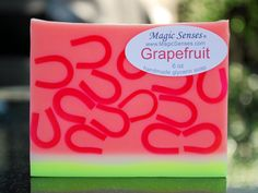 Grapefruit Handcrafted Glycerin Soap : Magic Senses, Unique soap for unique people