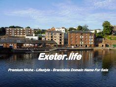 Exeter.life - Premium Domain Name for sale - Brandable - Tourism - Lifestyle | eBay