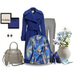 No Holiday Blue Here,, created by vonshelman on Polyvore