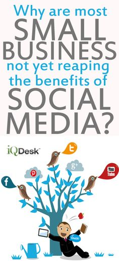 Why are most small Businesses not yet reaping the benefits of Social Media? #socialmedia #smallbusiness | http://www.iqdesk.net/blog/why-are-most-small-businesses-not-yet-reaping-the-benefits-of-the-social-media/
