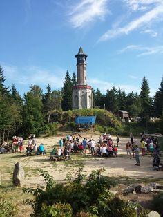 Rozhledna Štěpánka in Kořenov Lookout Tower, European Countries, Czech Republic, Towers, Prague, Four Square, Landscape, Country, Places