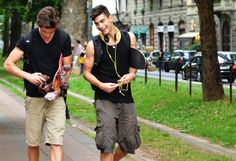i love skater boys Tommy Ton, Fransisco Lachowski, Skater Guys, Brazilian Male Model, Model Street Style, Straight Guys, Tailored Suits, Favim, Hot Boys