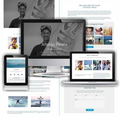Another website completed. Such fun to work with someone who you know and admire. All the best Alfonzo Pieters Freelance Designer, Creative Business, Designing Women, Instagram Feed, Competition, Surfing, Web Design, Youth, Website