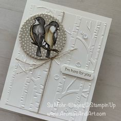 Aromas and Art - Page 77 of 299 - Su Mohr, Independent Stampin' Up! Demonstrator, and Independent Young Living Distributor Stampin Up, Bird Cards, Winter Trees, Colorful Drawings, Cool Cards, Woodland, Christmas Cards, Card Making, Scene