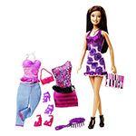 Barbie - Três Looks - Barbie Morena - Mattel
